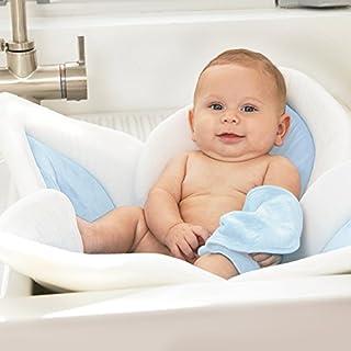 Blooming Bath Lotus - Baby Bath (Gray/Light Blue)