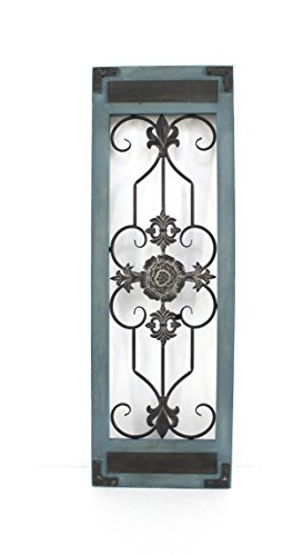 Teton Home WD-018 Metal and Wood Wall Decor