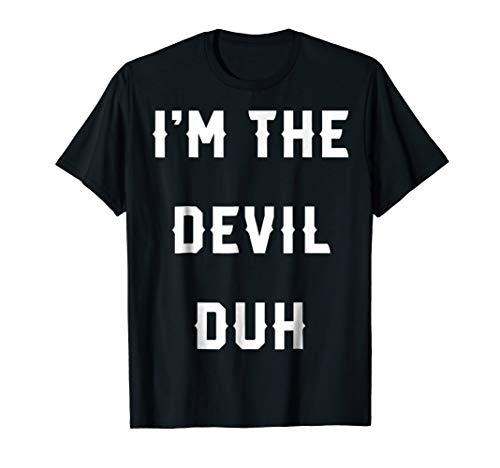Halloween Easy Devil Costume Shirts, I'm The Devil