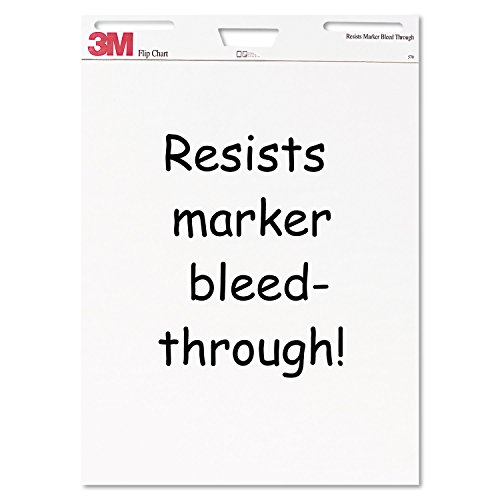 3M Flip Chart, 25 x 30-Inches, White, 40-Sheets/Pad by 3M (Image #3)