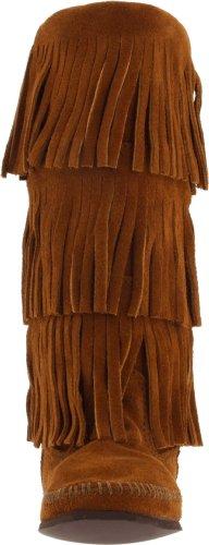 Minnetonka Femme Bottes Indiennes Pointure Noir 163 pgrqAwxp
