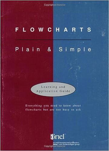 Amazon com: Flowcharts: Plain & Simple: Learning & Application Guide