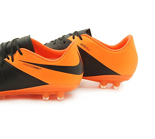 Pelle Nike Hypervenom Phinish Fg Soccer Bitta (nero, Total Orange)