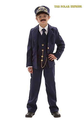 Child Polar Express Conductor Medium