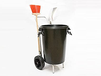 Náyade System® Street Cleaning Cart-ECO - Carro de limpieza viaria + cubo y tapa 100 Lt.: Amazon.es: Industria, empresas y ciencia