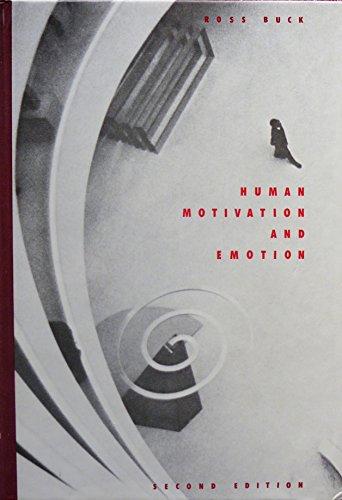 Human Motivation and Emotion