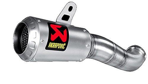 (Akrapovic S-Y2SO11-AHCSS Slip-On Line Exhaust for Yamaha R3 2015-2017)