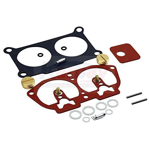 Karbay Carburetor Repair Kit For Yamaha Outboard Carb Rebuild V4-V6 Kit 6E5-W0093-06-00 115 130 150 175 200 225 (1) ()