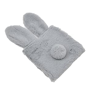 Cute Bunny Tail Sanitary Napkin Pouch Rabbit Ear Tampon Holder Travel Purse Bag