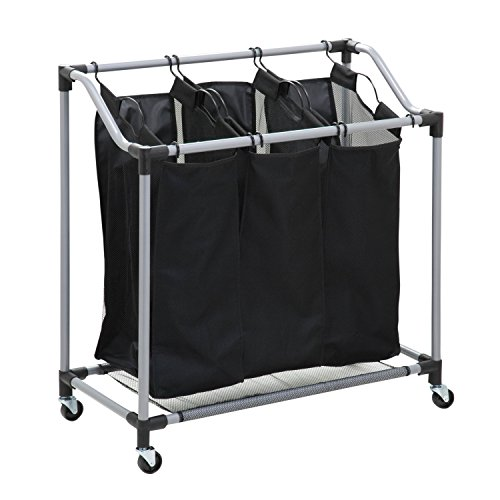 Honey Can Do SRT 01641 Triple Laundry Sorter
