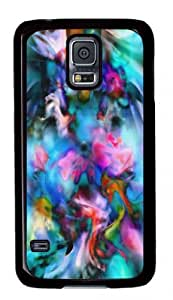 Slick Design with Illustration Flowers Scattered by Wind Hard Plastic Back Case for Samsung Galaxy S5 i9006 -516013 WANGJING JINDA