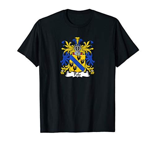 Polo Coat of Arms - Family Crest Shirt