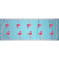 Betsy Drake RN084 Flamingo Table Runner,13 X36