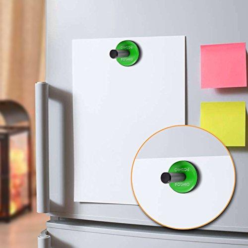 FOSHIO 4PCS Green Car Vinyl Wrap Gripper Magnet Holder Tints Tool Refrigerator Magnets by FOSHIO (Image #2)