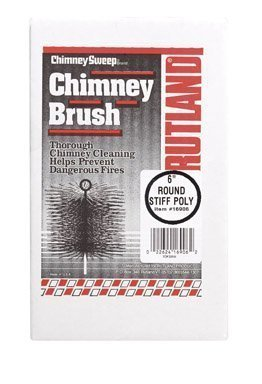 Rutland Products 16906 6-Inch Poly Chimney Cleaning Brush by Rutland ()