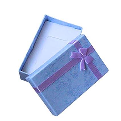 Hacoly Pack de 10 Piezas de Cajas de Regalo con diseño de Bowknot ...