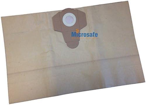 Microsafe Paquete de 5 bolsas de aspiradora para Parkside PNTS ...