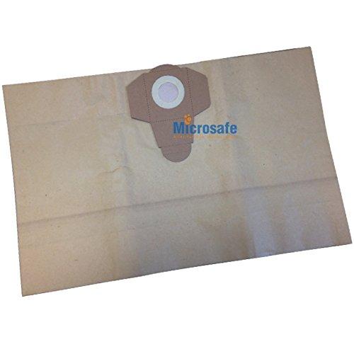 MicroSafe® - 5 bolsas para aspiradora a Parkside pnts 1300 pnts1300: Amazon.es: Hogar