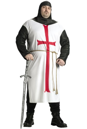 Fun World Templar Knight Size Costume