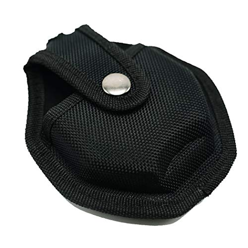 Uzi CUFFCASE Nylon Reinforced Handcuff Case Pouch with Metal Pocket Clip and Key Holder Tactical Police Gear Handcuffs Holster (Handcuff Case Clip)