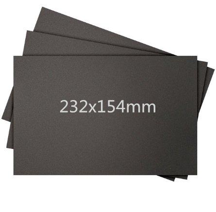 WillBest 5pcs 232154mm Printer Heated Bed Tape Print Sticker Build Plate Tape for Creator Pro/Dreamer 3D Printer by WillBest