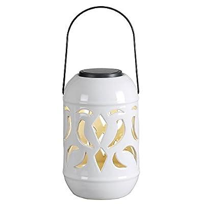 Kenroy Home Lydia 60526WH Solar Lantern