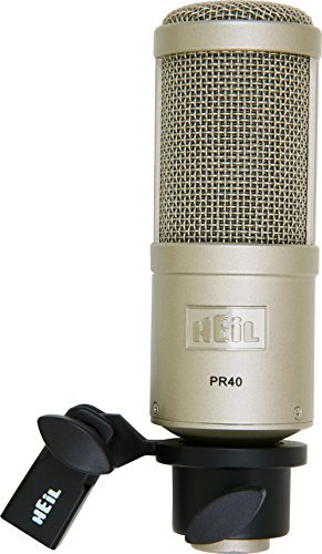 Heil Sound PR40 Dynamic Microphone (Carrying case included) by HEiL sound