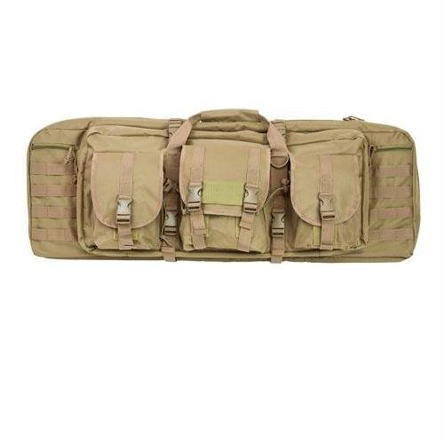 Vism Double Carbine Case, Tan, 36-Inch