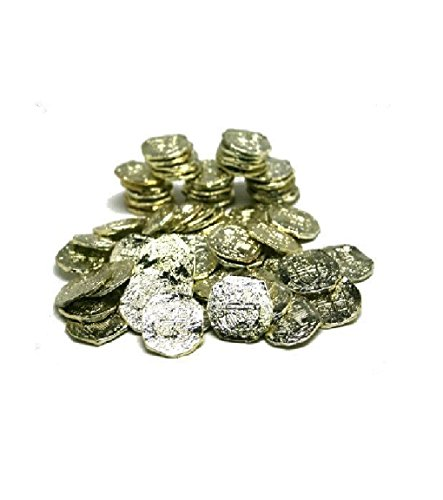 - US Toy - Ancient Pirate Coins, (7.5 by 4.2 by 1.5 Inches) (2-Pack of 72)