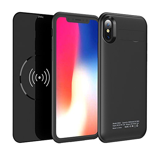 iPhone X charger and case