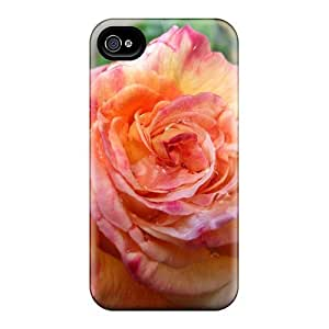 WTMLFWk576GmPlZ Rose Droplets Fashion Tpu 4/4s Case Cover For Iphone
