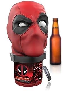 ZJWEI / Man Wei surrounding Deadpool dead Shi open bottle opener car and motorcycle key chain 1pc