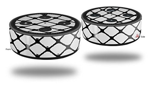 Skin Wrap Decal Set 2 Pack for Amazon Echo Dot 2 - Fishnets (2nd Generation ONLY - Echo NOT INCLUDED) ()