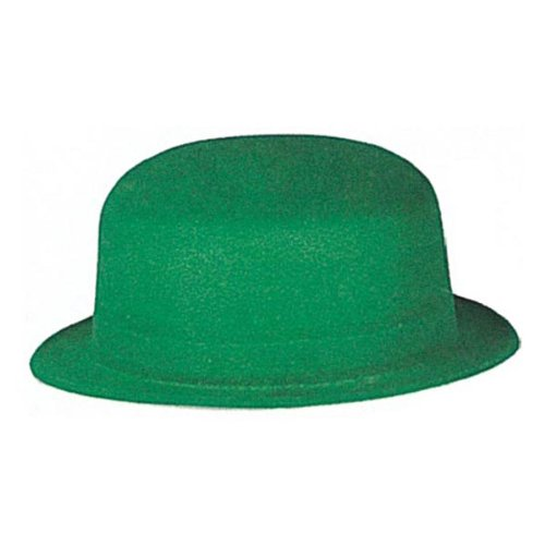 (Green Velour Derby Party Accessory (1)