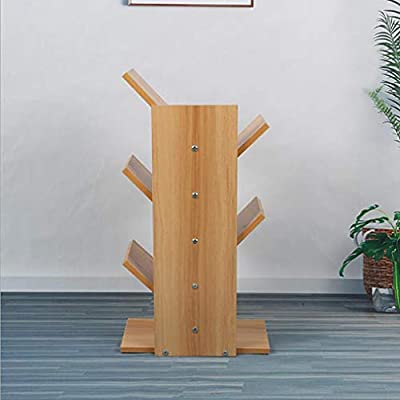 D&LE Nivel 5 Estantería árbol, Compacto Madera Biblioteca Escritorio Repisa Escalera Estante De Almacenamiento De Pantalla para Cds Libros Montaje Fácil-Registros 31x16x60cm(12x6x24inch): Amazon.es: Hogar