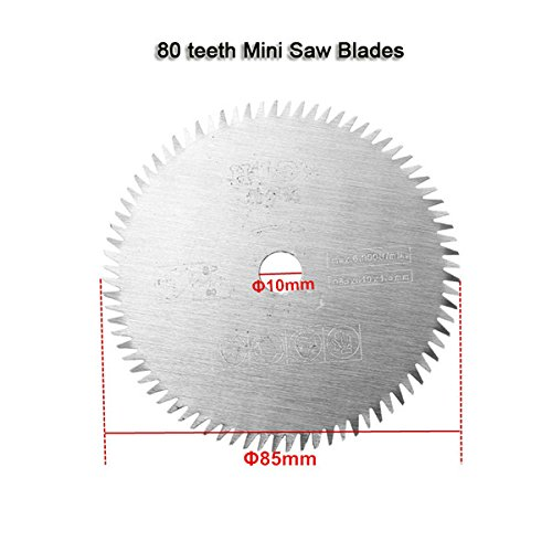Price comparison product image 80 Teeth TCT Mini Saw Blade 85mm Circular Saw Blade for Multi Function Electric Mini Saw