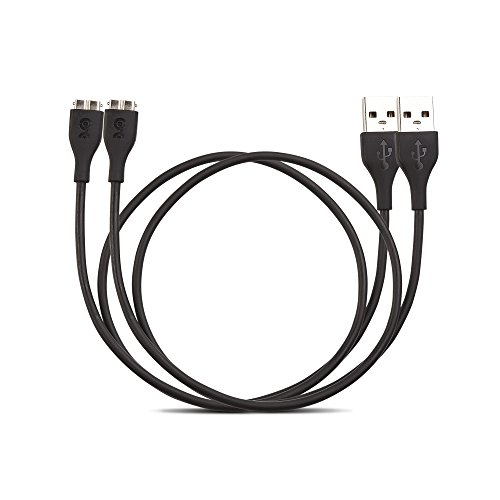 Cable Matters 2-Pack Charging Cable for Fitbit Charge HR - 20 Inches