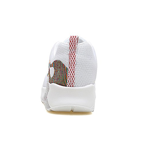 Jd8010baise39 Femmes Enllerviid Maille Air Max Sport Chaussures De Course Mode De Marche Baskets Blanc 7 B (m) Us