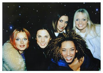 (123Posters (35 x 25) Spice Girls Poster Original 1998 Print)