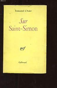 Sur saint-simon par Emmanuel d' Astier de La Vigerie