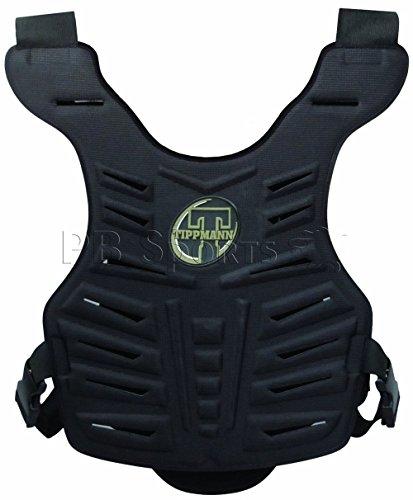 tippmann Paintball Chest Armor Tippmann Black padded Molded Hard Vented Protector Body