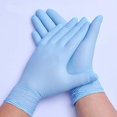 /par Guilty Gadgets Poudre Poudre Gratuit Multi-Usage/ /sans Latex/ /en Vinyle Gants jetables /Bleu/ 100/x Petite Taille/