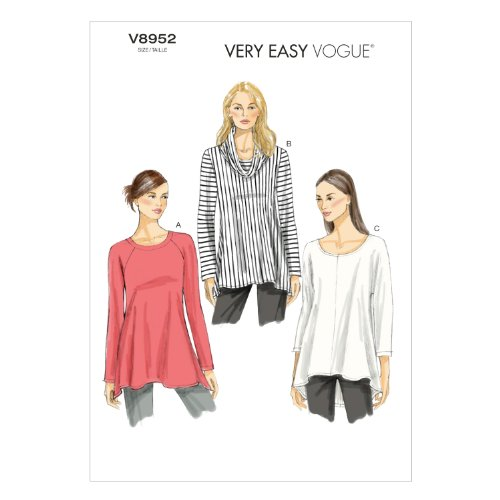 Vogue Patterns V8952 Misses' Tunic Sewing Template, Size ZZ from Vogue Patterns