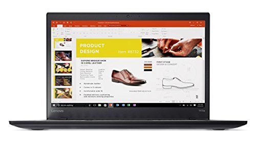 流行 Lenovo 10 ThinkPad T470s Windows 10 Pro Color Laptop - B07GBYBJL3 Intel Core i7-7600U,12GB RAM,512GB SSD,14