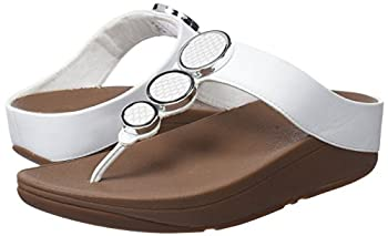 Fitflop Women's Halo Toe Thong Sandals Urban White 8 4