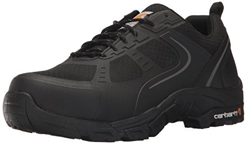 Carhartt Men's Oxford Black Lightweight Hiker Steeltoe CMO3251 Industrial Boot, Black Mesh and Synthetic, 8 W US