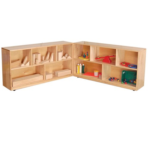 "Wood Designs 13720 Folding Storage, 36"" Height, Maple (Pa..."