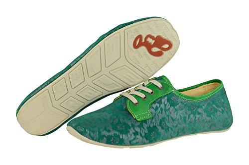 1 18297 et Eject Green classique coupe à Vert femme Chaussures lacets gqww5xAdY