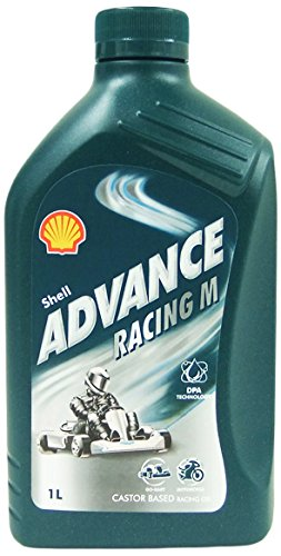SHELL 1535001 Advance Racing M Aceites de motor para coches, 1 Litro: Amazon.es: Coche y moto
