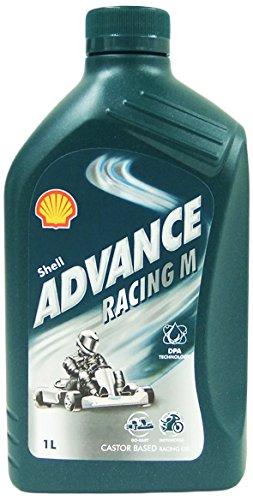 SHELL 1535001 Advance Racing M Aceites de motor para coches, 1 Litro: Amazon.es: Coche y moto